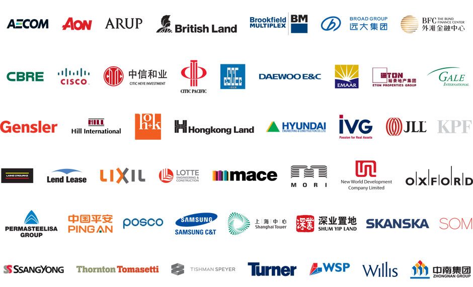 The Companies Below Have All Been Sponsors Of A Recent Ctbuh Conference