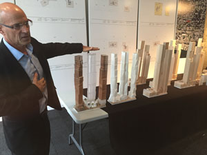 Peter Kofman, President, Projectcore, discusses Mervish + Gehry models.