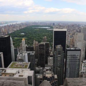 Central Park From Top of the Rock (c) CTBUH / Aric Austermann