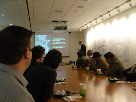 A presentation on SOM's role in developing city policy.