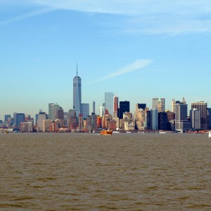 Downtown from the Hudson River (c)